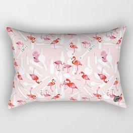A BDSM Valentine Rectangular Pillow