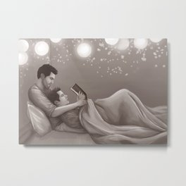 Fairy Light and Fairy Tales Metal Print