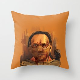 hannibal - the silence of the lambs Throw Pillow