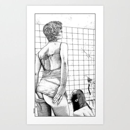 asc 672 - L'importance d'être une bonne maîtresse (A dog life) Art Print