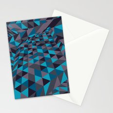 Triangulation (Inverted) Stationery Cards