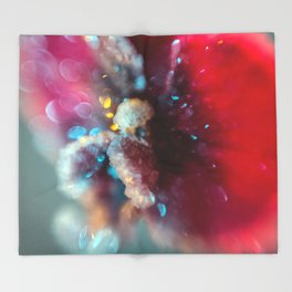 Crystal Orchid Sparkles Throw Blanket