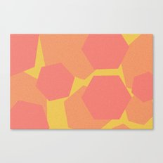 Hexa-Pattern Canvas Print