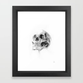Skull 52 Framed Art Print