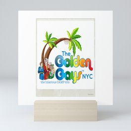 The Golden Gays NYC - More! Mini Art Print