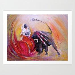 2009 Toro Acrylics 02 Art Print