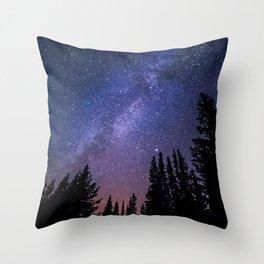 Wonder of the Stars Throw Pillow