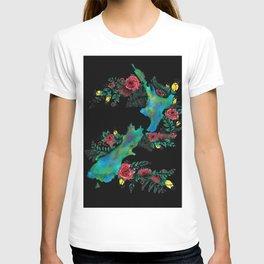 NewZealand Map T-shirt