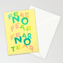 Mental Warfare Cry Stationery Cards
