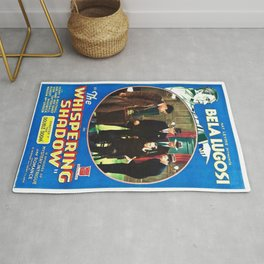 Classic Movie Poster - The Whispering Shadow Rug