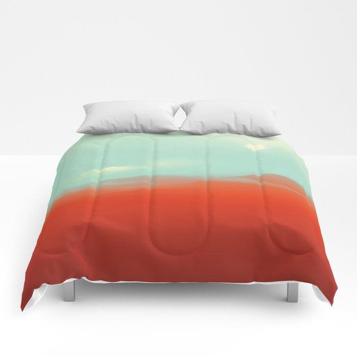 WARM ORANGE Comforters