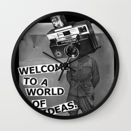 World of Ideas Wall Clock