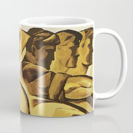 bread for us cccp sssr soviet union political propaganda revolution poster  Coffee Mug