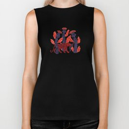 Tiger story in the jungle Biker Tank
