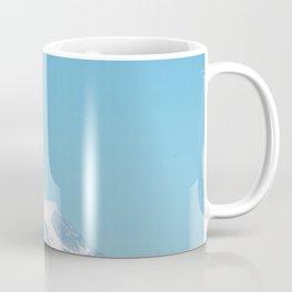 Snow Capped Mountain (Color) Coffee Mug