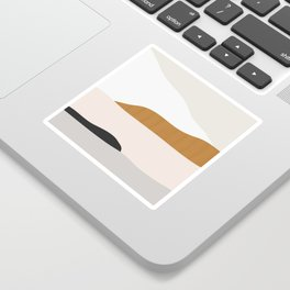 Minimal Art Landscape 2 Sticker