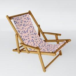 Memphis Pattern 12 - 80s Retro Sling Chair
