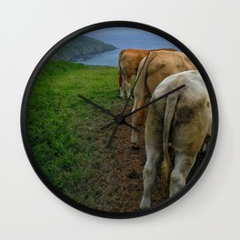 Will You Miss the Views??? Wall Clock