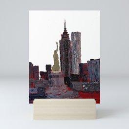 Standing Watch Cutout Mini Art Print