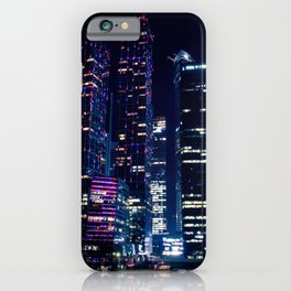Moscow Skyscrapers iPhone Case