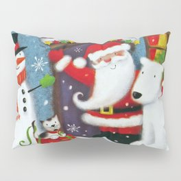 Santa's House Pillow Sham