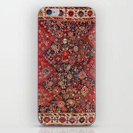 Qashqa'i Fars Southwest Persian Nomad Rug Print iPhone Skin