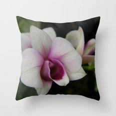 Orchids #2 Throw Pillow