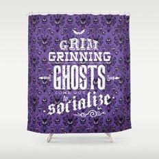 Haunted Mansion - Grim Grinning Ghosts Shower Curtain