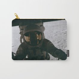 Apollo 12 - Astronaut Down The Ladder Carry-All Pouch