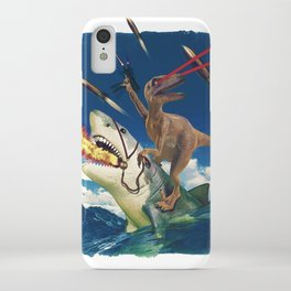 Crazy Raptor iPhone Case