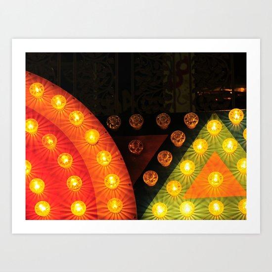 Marquis Lights Art Print