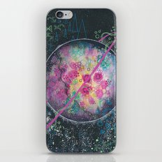 Portrait of an imaginary planet iPhone & iPod Skin