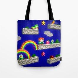 Inside Rainbow Islands Tote Bag