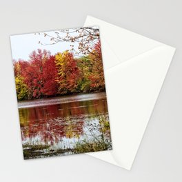 Fall Contemplation Stationery Cards