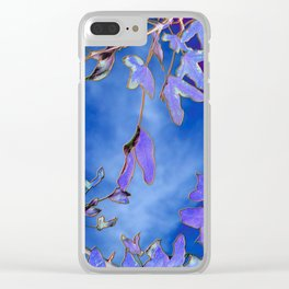 Into the Blue Clear iPhone Case