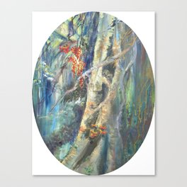 Eyes in the Forest Canvas Print