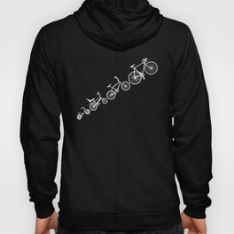 Ascent of a Cyclist Hoody