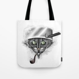 Xavier the Cat Tote Bag