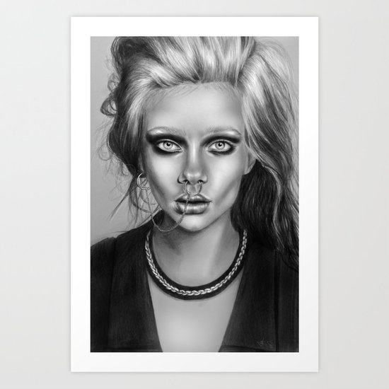 + SEA OF SORROW + Art Print