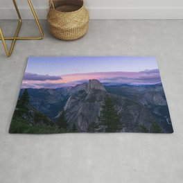 Yosemite National Park at Sunset Rug