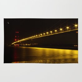 River of Gold- Humber Bridge Rug