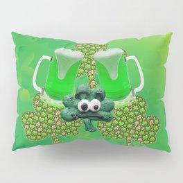 St. Patricks Day Green Beer Pillow Sham