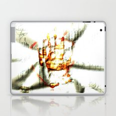 Trace of the hand Laptop & iPad Skin