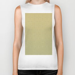 Glama Checks Again (Olive) Biker Tank