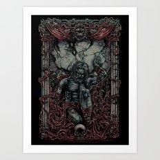 atlas shrugged - ayn rand Art Print