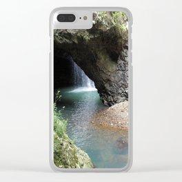 Natural Bridge (Arch) Clear iPhone Case