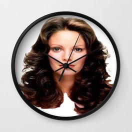 Jaclyn Smith Wall Clock