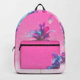 Retro Funk Paradise Palm Backpack