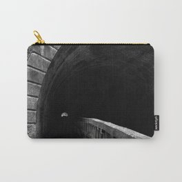 Paw Paw Grunge Tunnel - Black & White Carry-All Pouch
