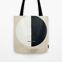Hilma Af Klint Buddha's Standpoint In The Earthly Life Tote Bag